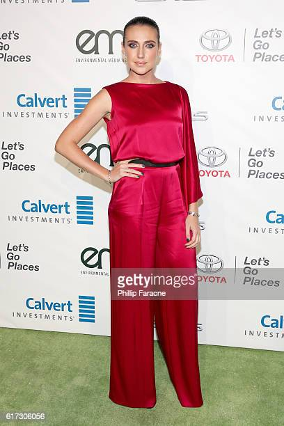 Actress Anna Schafer attends the Environmental Media Association 26th Annual EMA Awards Presented By Toyota Lexus And Calvert at Warner Bros Studios...