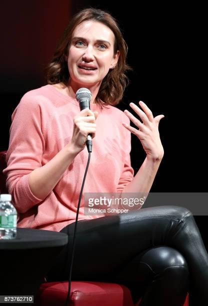 Actress Anna Schafer speaks during SAGAFTRA Foundation Conversations 'Elizabeth Blue' With Anna Schafer And Thelma Adams at The Robin Williams Center...