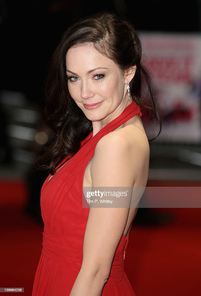 Actress Anna Skellern attends the UK Premiere of 'I Give It A Year' at the Vue West End on January 24, 2013 in London, England.