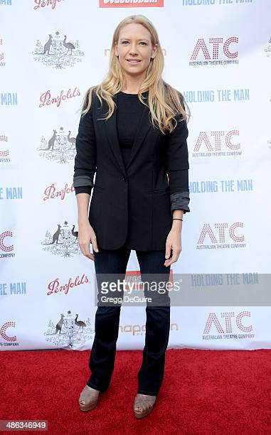 Actress Anna Torv attends the media launch for the Australian Theatre Company on April 23 2014 in Los Angeles California