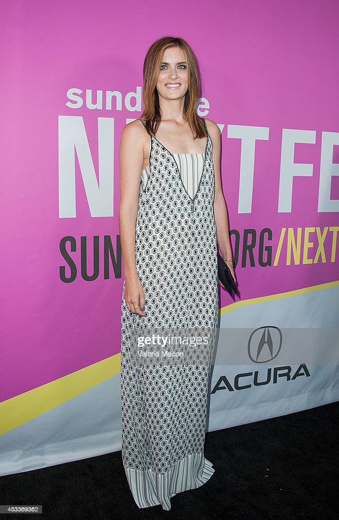 Actress <a gi-track='captionPersonalityLinkClicked' href=/galleries/search?phrase=Anna+Wood&family=editorial&specificpeople=6911245 ng-click='$event.stopPropagation()'>Anna Wood</a> arrives at Sundance NextFest Film Festival Premiere Of 'Life After Beth' at The Theatre At The Ace Hotel on August 8, 2014 in Los Angeles, California.