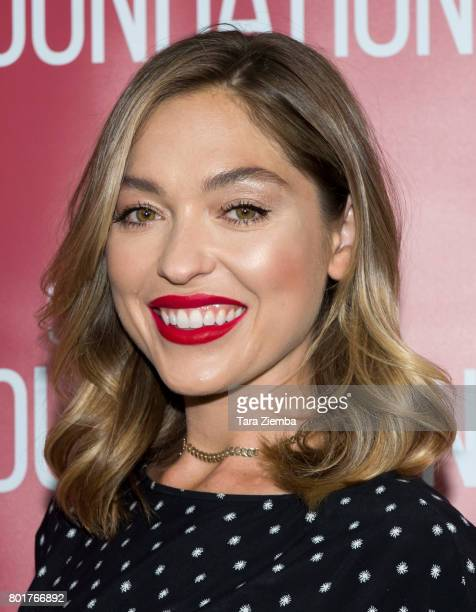 Actress Annabelle Stephenson attends SAGAFTRA Foundation Conversations Screening Of 'Pray For Rain' at SAGAFTRA Foundation Screening Room on June 26...