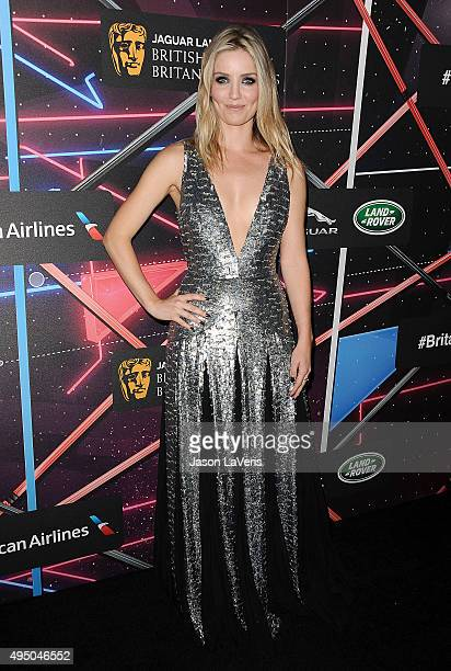 Actress Annabelle Wallis attends the 2015 British Academy Britannia Awards at The Beverly Hilton Hotel on October 30 2015 in Beverly Hills California