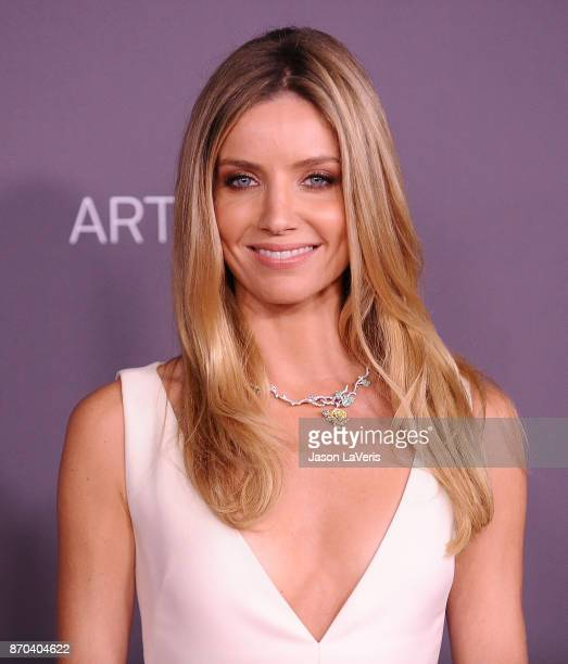 Actress Annabelle Wallis attends the 2017 LACMA Art Film gala at LACMA on November 4 2017 in Los Angeles California