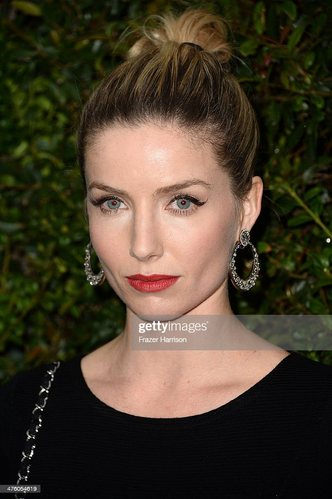 Actress Annabelle Wallis attends the Chanel and Charles Finch Pre-Oscar Dinner at Madeo Restaurant on March 1, 2014 in Los Angeles, California.