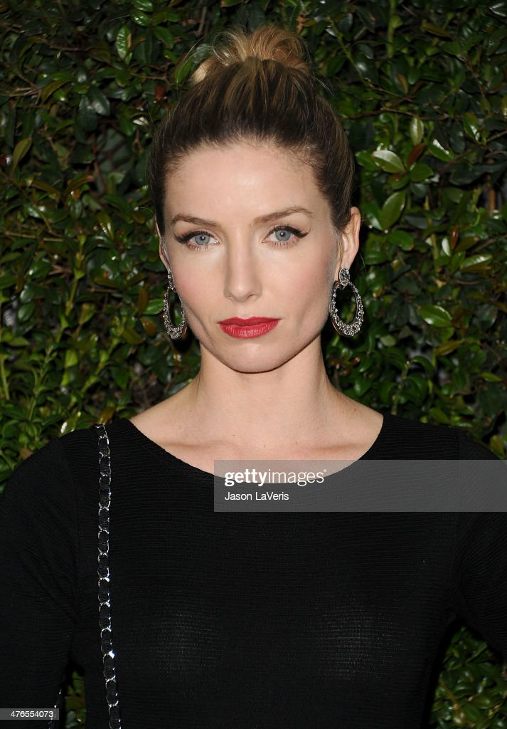 Actress <a gi-track='captionPersonalityLinkClicked' href=/galleries/search?phrase=Annabelle+Wallis&family=editorial&specificpeople=5645087 ng-click='$event.stopPropagation()'>Annabelle Wallis</a> attends the Chanel and Charles Finch pre-Oscar dinner at Madeo Restaurant on March 1, 2014 in Los Angeles, California.