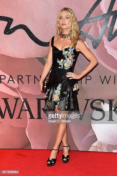 Actress Annabelle Wallis attends The Fashion Awards 2016 on December 5 2016 in London United Kingdom