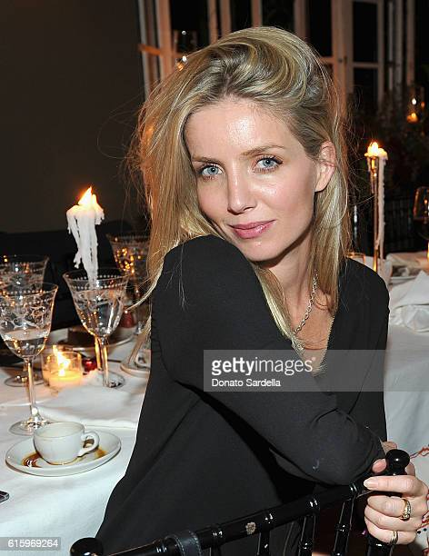 Actress Annabelle Wallis attends the Jo Malone London Girl dinner at Chateau Marmont on October 20 2016 in Los Angeles California