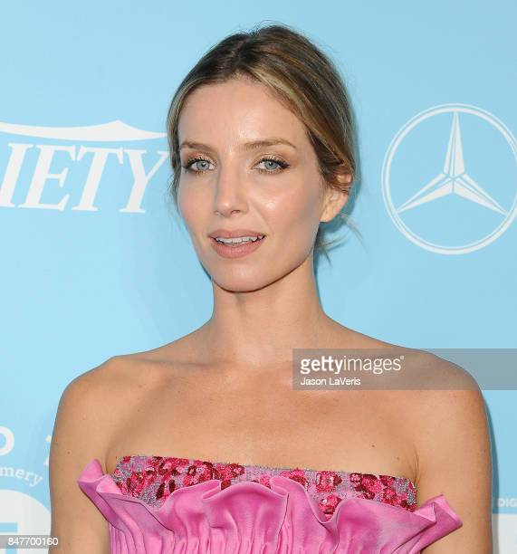 Actress Annabelle Wallis attends Variety and Women In Film's 2017 preEmmy celebration at Gracias Madre on September 15 2017 in West Hollywood...