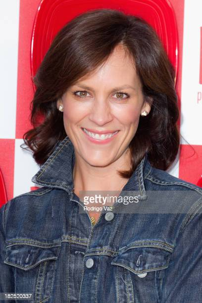 Actress Annabeth Gish attends Project Angel Food's 2nd Annual DELISH Tasting Experience at Siren Studios on September 29 2013 in Hollywood California