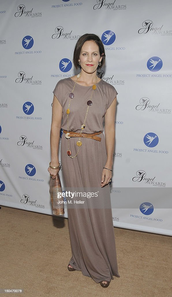 Actress Annabeth Gish attends the 17th Annual Angel Awards at Project Angel Food on August 18, 2012 in Los Angeles, California.