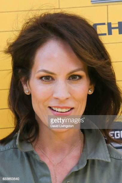 Actress Annabeth Gish attends the Premiere of Warner Bros Pictures' 'The LEGO Batman Movie' at the Regency Village Theatre on February 4 2017 in...