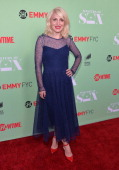 Actress Annaleigh Ashford arrives to an exclusive conversation with the cast of Showtime's 'Masters Of Sex' at Leonard H Goldenson Theatre on April...