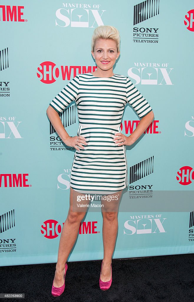 Actress <a gi-track='captionPersonalityLinkClicked' href=/galleries/search?phrase=Annaleigh+Ashford&family=editorial&specificpeople=4268366 ng-click='$event.stopPropagation()'>Annaleigh Ashford</a> attends Showtime's 'Masters Of Sex' Season 2 - 2014 Summer TCA Press Tour Event at Sony Pictures Studios on July 16, 2014 in Culver City, California.