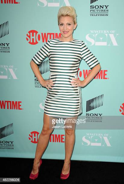 Actress Annaleigh Ashford attends the 'Master of Sex' TCA event at Sony Pictures Studios on July 16 2014 in Culver City California