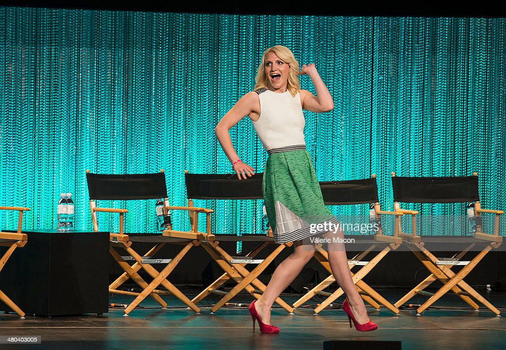 Actress <a gi-track='captionPersonalityLinkClicked' href=/galleries/search?phrase=Annaleigh+Ashford&family=editorial&specificpeople=4268366 ng-click='$event.stopPropagation()'>Annaleigh Ashford</a> attends The Paley Center For Media's PaleyFest 2014 Honoring 'Masters Of Sex' at Dolby Theatre on March 24, 2014 in Hollywood, California.