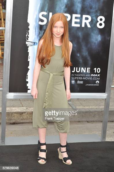 Actress Annalise Basso arrives at the Premiere of Paramount Pictures' 'Super 8' held at the Regency Village Theater in Westwood