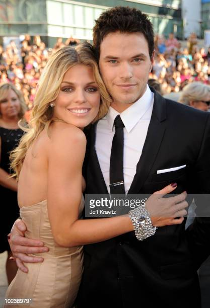 Actress AnnaLynne McCord and actor Kellan Lutz arrive at the premiere of Summit Entertainment's 'The Twilight Saga Eclipse' during the 2010 Los...