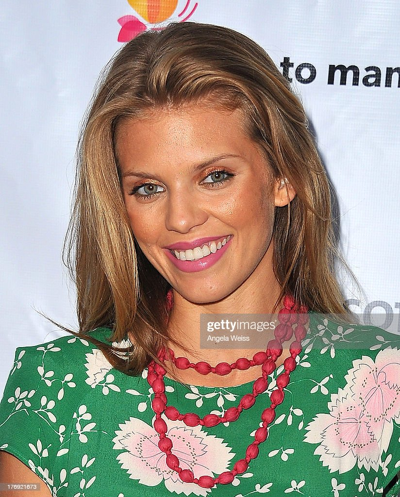 Actress <a gi-track='captionPersonalityLinkClicked' href=/galleries/search?phrase=AnnaLynne+McCord&family=editorial&specificpeople=4070122 ng-click='$event.stopPropagation()'>AnnaLynne McCord</a> arrives at the 18for18: Summer Soiree Honoring the Somaly Mam Foundation on August 18, 2013 in Venice, California.