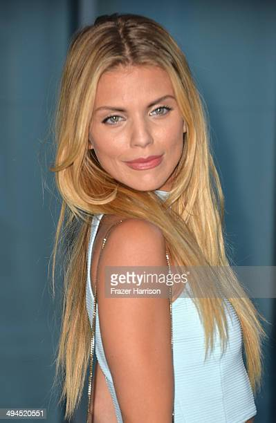 Actress AnnaLynne McCord arrives at the Anna Lynne McCord CAST 16th From Slavery To Freedom Gala at Skirball Cultural Center on May 29 2014 in Los...