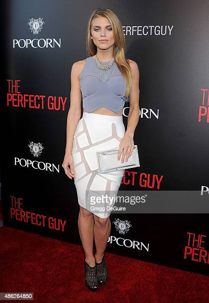Actress AnnaLynne McCord arrives at the premiere of Screen Gems' 'The Perfect Guy' at The WGA Theater on September 2 2015 in Beverly Hills California