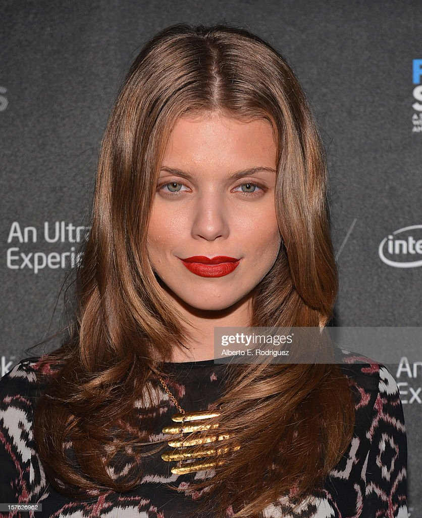 Actress AnnaLynne McCord arrives to the after party for the premiere of 'Four Stories' at The W Hotel on December 4, 2012 in Westwood, California.