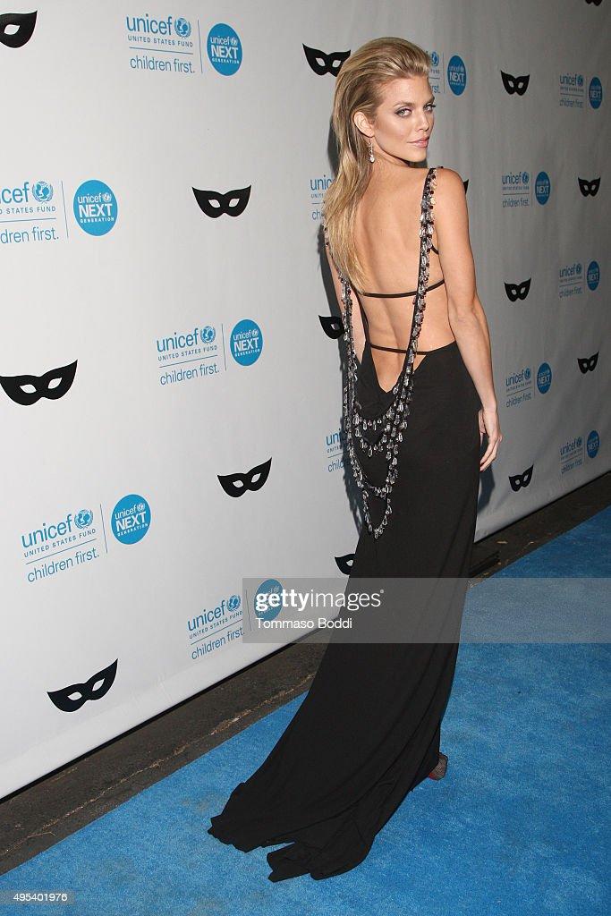 Actress AnnaLynne McCord at the UNICEF Next Generation Third Annual UNICEF Black White Masquerade Ball benefiting UNICEF's lifesaving programs...