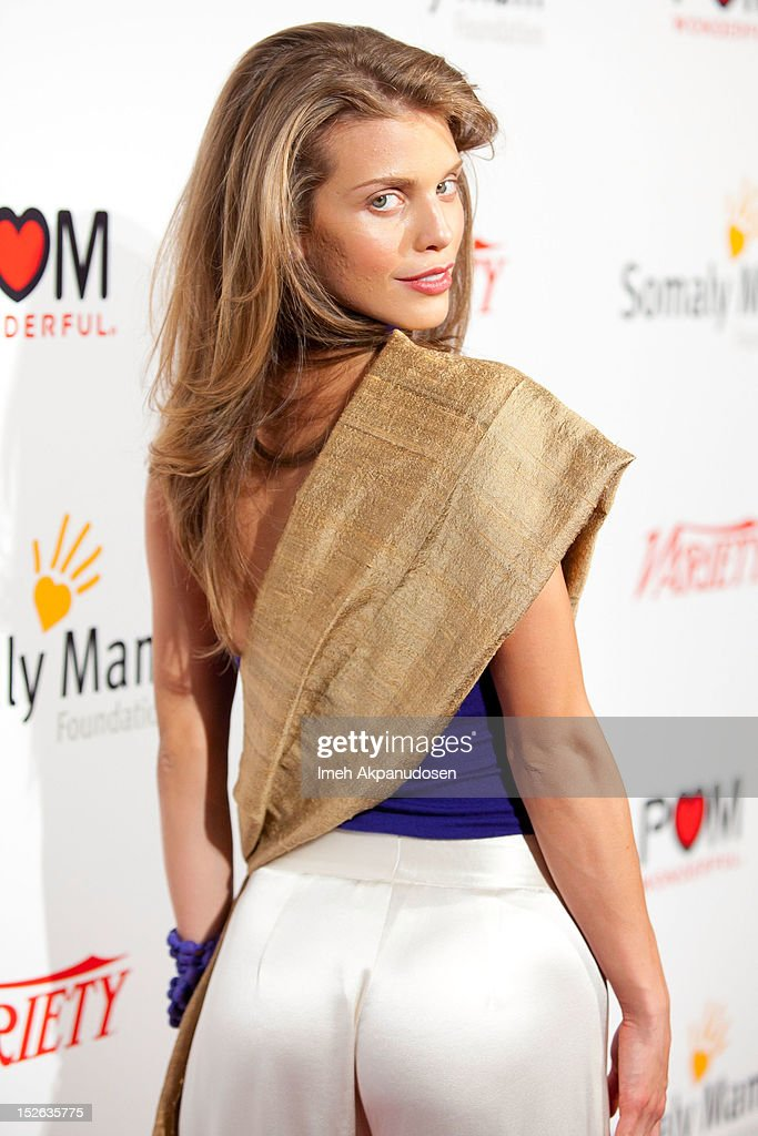 Actress AnnaLynne McCord attends a 'Life Is Love' event benefitting The Somaly Mam Foundation on September 22, 2012 in Los Angeles, California.