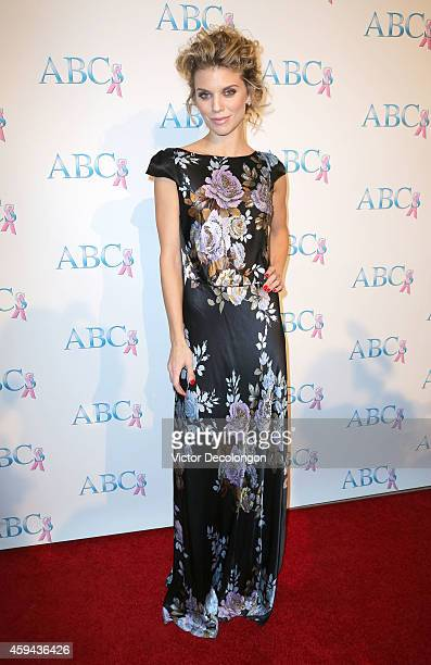 Actress AnnaLynne McCord attends Associates for Breast and Prostate Cancer Studios 25th Annual Talk of The Town Black Tie Gala at The Beverly Hilton...