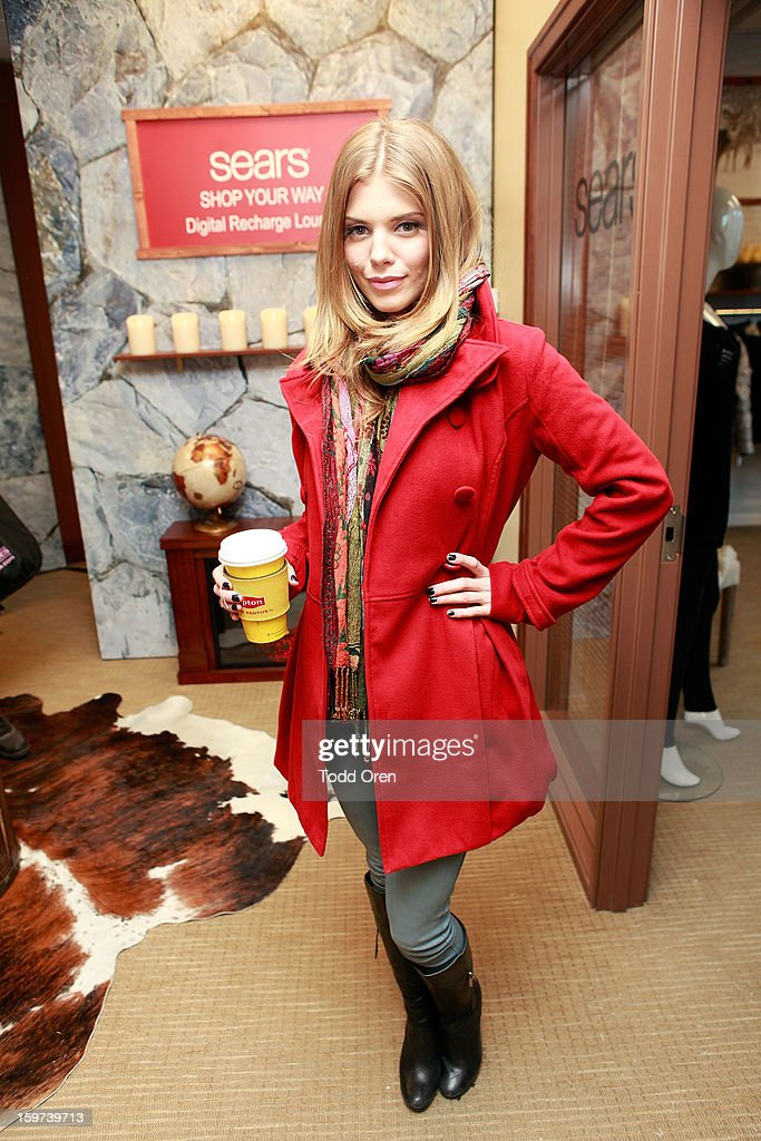 Actress AnnaLynne McCord attends Day 2 of Sears Shop Your Way Digital Recharge Lounge on January 19, 2013 in Park City, Utah.