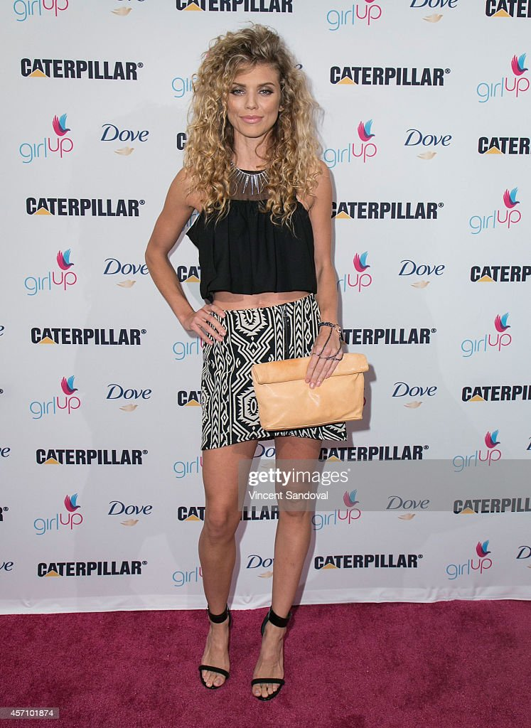 Actress AnnaLynne McCord attends International Day of The Girl 2014 at UCLA Carnesale Commons on October 11 2014 in Los Angeles California
