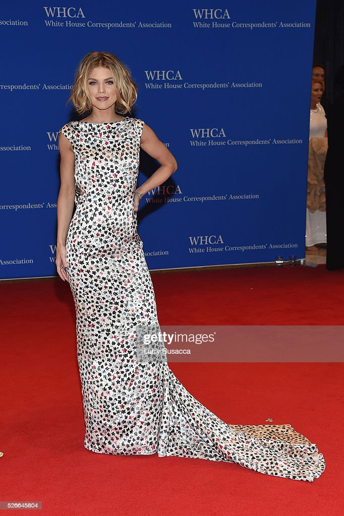 Actress AnnaLynne McCord attends the 102nd White House Correspondents' Association Dinner on April 30, 2016 in Washington, DC.