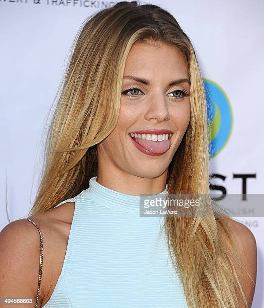 Actress AnnaLynne McCord attends the 16th From Slavery to Freedom gala at Skirball Cultural Center on May 29 2014 in Los Angeles California
