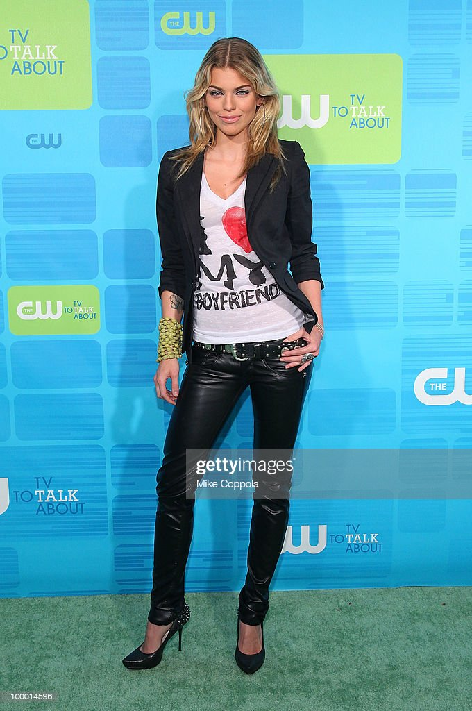 Actress AnnaLynne McCord attends the 2010 The CW UpFront at Madison Square Garden on May 20, 2010 in New York City.