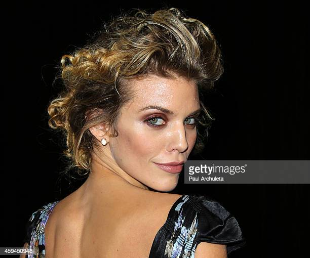 Actress AnnaLynne McCord attends the 25th annual 'Talk Of The Town' black tie gala at The Beverly Hilton Hotel on November 22 2014 in Beverly Hills...