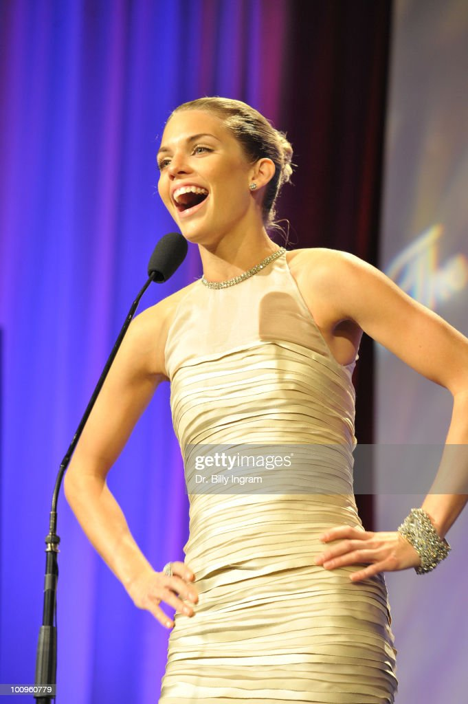 Actress AnnaLynne McCord attends the 35th Annual Gracie Awards Gala at The Beverly Hilton hotel on May 25, 2010 in Beverly Hills, California.