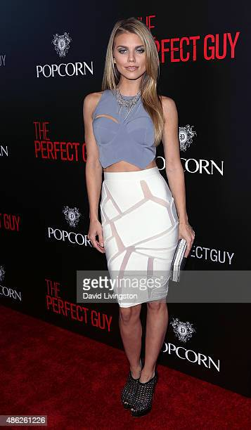 Actress AnnaLynne McCord attends the premiere of Screen Gems' 'The Perfect Guy' at the WGA Theater on September 2 2015 in Beverly Hills California