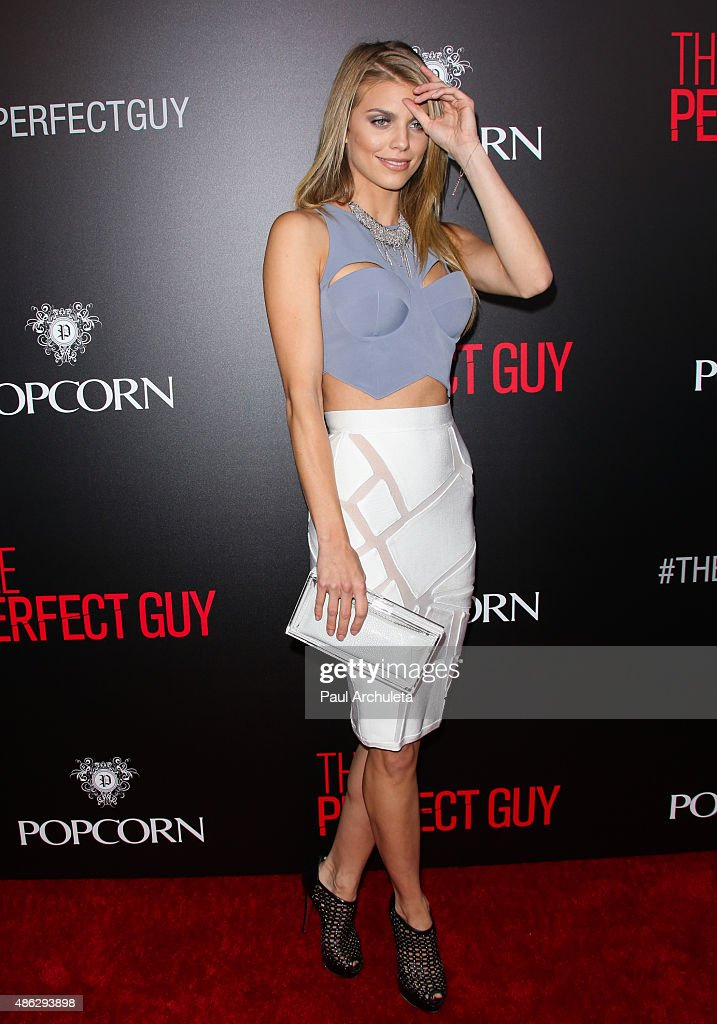 Actress AnnaLynne McCord attends the premiere of 'The Perfect Guy' at The WGA Theater on September 2 2015 in Beverly Hills California