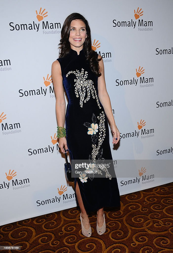 Actress <a gi-track='captionPersonalityLinkClicked' href=/galleries/search?phrase=AnnaLynne+McCord&family=editorial&specificpeople=4070122 ng-click='$event.stopPropagation()'>AnnaLynne McCord</a> attends the Somaly Mam Foundation Gala at Gotham Hall on October 23, 2013 in New York City.