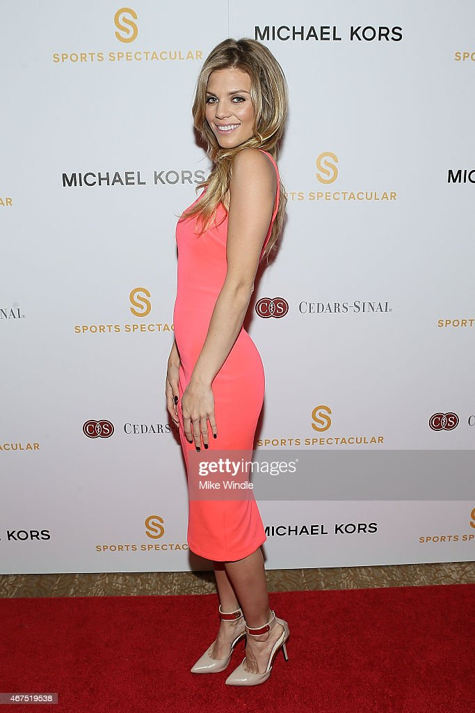 Actress AnnaLynne McCord attends the Sports Spectacular Luncheon Benefiting CedarsSinai at The Beverly Hilton Hotel on March 25 2015 in Beverly Hills...