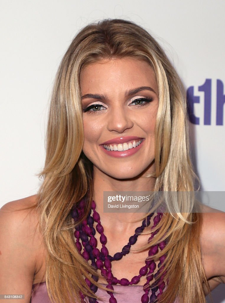 Actress <a gi-track='captionPersonalityLinkClicked' href=/galleries/search?phrase=AnnaLynne+McCord&family=editorial&specificpeople=4070122 ng-click='$event.stopPropagation()'>AnnaLynne McCord</a> attends together1heart launch party hosted by <a gi-track='captionPersonalityLinkClicked' href=/galleries/search?phrase=AnnaLynne+McCord&family=editorial&specificpeople=4070122 ng-click='$event.stopPropagation()'>AnnaLynne McCord</a> at Sofitel Hotel on June 25, 2016 in Los Angeles, California.