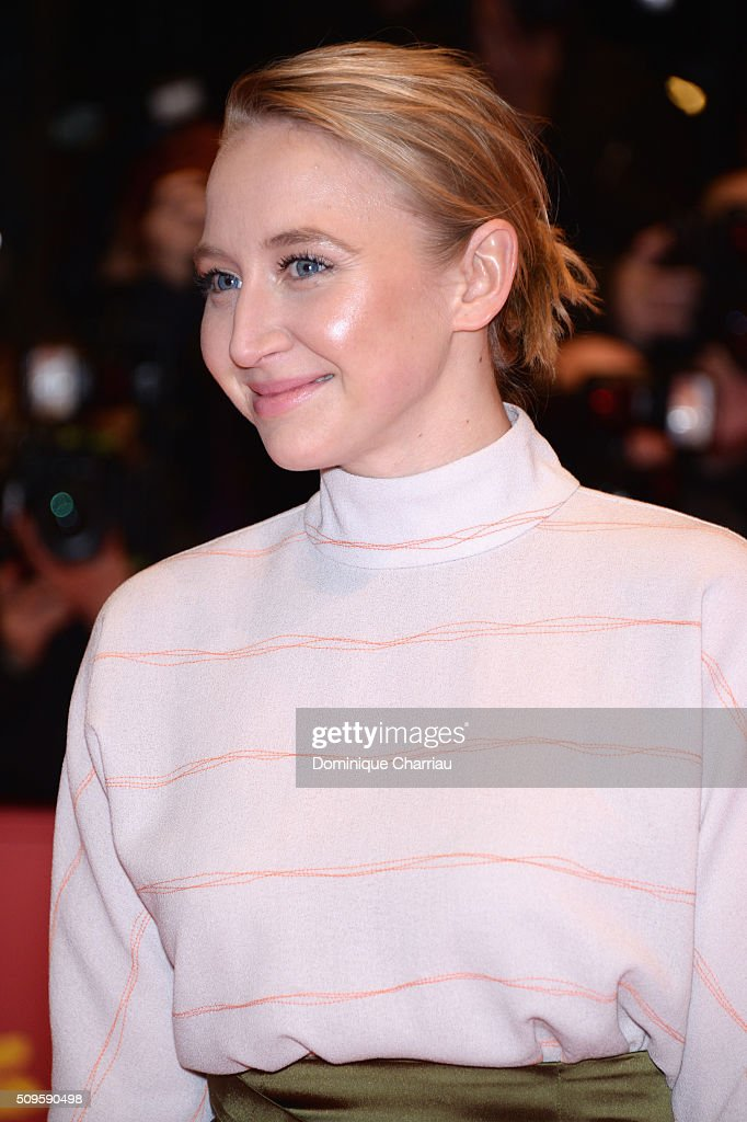 Actress Anna-Maria Muehe attends the 'Hail, Caesar!' premiere during the 66th Berlinale International Film Festival Berlin at Berlinale Palace on February 11, 2016 in Berlin, Germany.