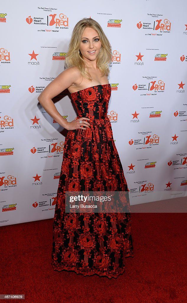 Actress AnnaSophia Robb attends Go Red For Women The Heart Truth Red Dress Collection 2014 Show Made Possible By Macy's And SUBWAY Restaurants at The Theatre at Lincoln Center on February 6, 2014 in New York City.