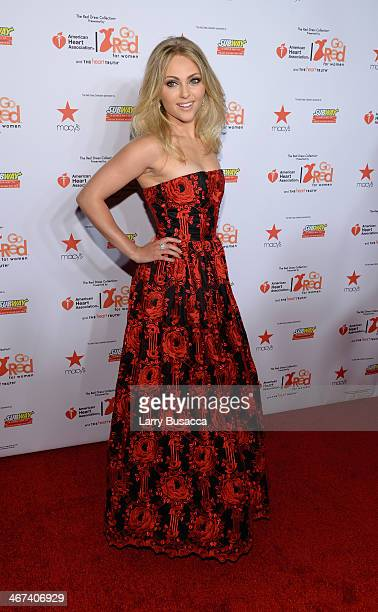 Actress AnnaSophia Robb attends Go Red For Women The Heart Truth Red Dress Collection 2014 Show Made Possible By Macy's And SUBWAY Restaurants at The...