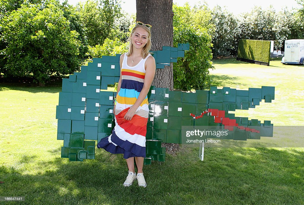 Actress Annasophia Robb attends LACOSTE L!VE 4th Annual Desert Pool Party on April 13, 2013 in Thermal, California.