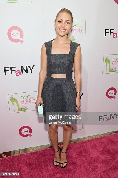 Actress AnnaSophia Robb attends QVC presents 'FFANY Shoes on Sale' at Waldorf Astoria Hotel on October 8 2014 in New York City