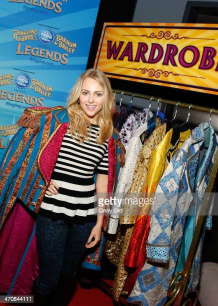 Actress AnnaSophia Robb attends Ringling Bros and Barnum Bailey presents 'Legends' at Barclays Center of Brooklyn on February 20 2014 in New York City