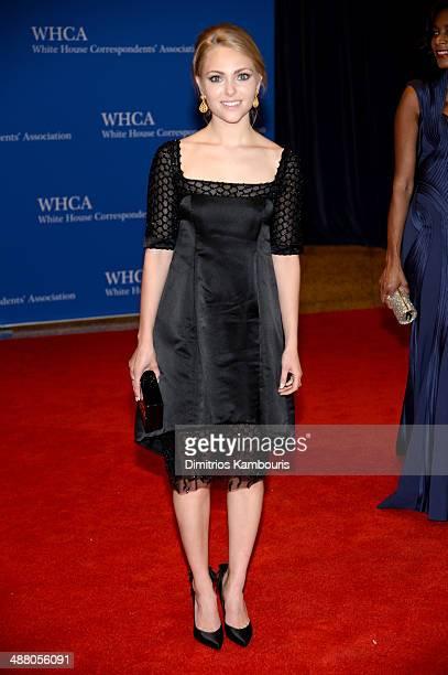Actress AnnaSophia Robb attends the 100th Annual White House Correspondents' Association Dinner at the Washington Hilton on May 3 2014 in Washington...