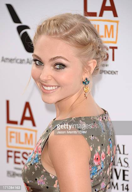 Actress AnnaSophia Robb attends the 2013 Los Angeles Film Festival premiere of the Fox Searchlight Pictures' 'The Way Way Back' held on June 23 2013...