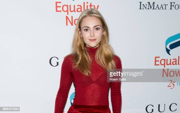 Actress AnnaSophia Robb attends the 2017 Equality Now Gala at Gotham Hall on October 30 2017 in New York City